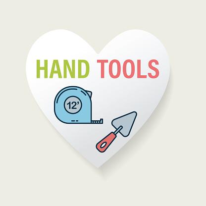 Hand Tools Home Improvement Website Sticker