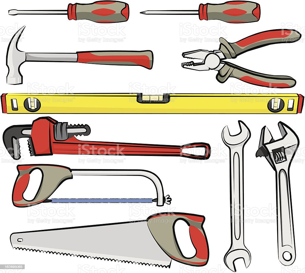 hand tools royalty-free stock vector art