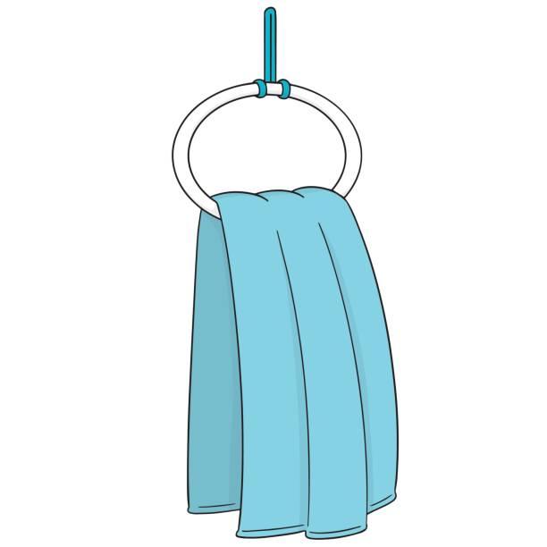 Towel Clip Art: Royalty Free Hanging Towel Clip Art, Vector Images