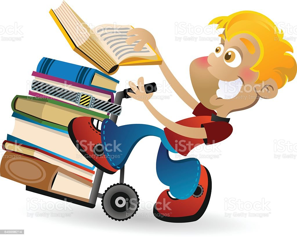 Hand Truck Books royalty-free hand truck books stock vector art & more images of balance