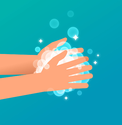 Hand Washing with Soap and Water