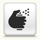 istock Hand with a Spray Can Icon 1225921304