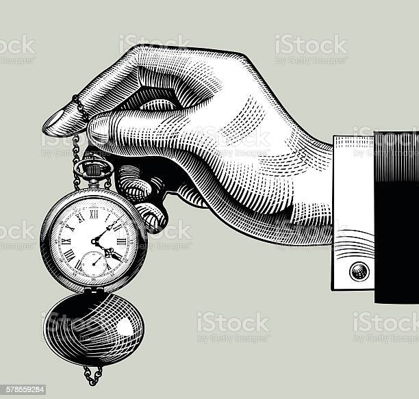 Hand with an old clock retro pocket watch vector id578559284?b=1&k=6&m=578559284&s=612x612&h=udktl9gdgidjs2up13ea7ikss06dywjf9ddrpyilqa0=