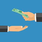 istock Hand with Money 646887790