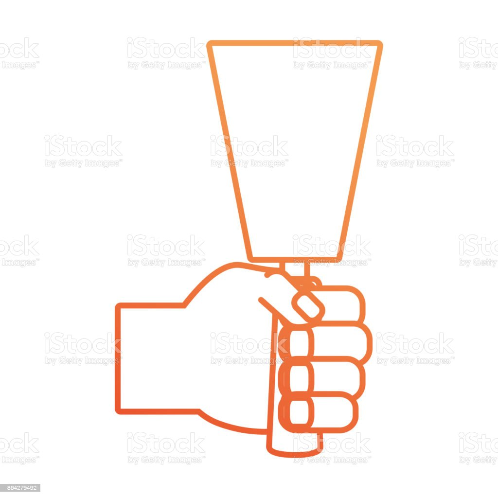 hand  with spatula vector illustratio royalty-free hand with spatula vector illustratio stock vector art & more images of adult