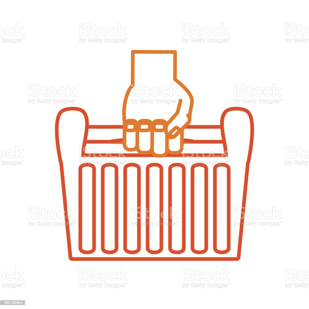 hand with tool box  vector illustratio royalty-free hand with tool box vector illustratio stock vector art & more images of animal