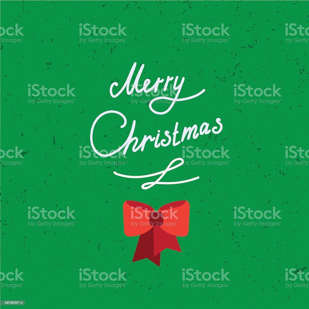 Immagini Con Scritte Di Buon Natale.Lettere Scritte A Mano Di Buon Natale Vintage Con Testo
