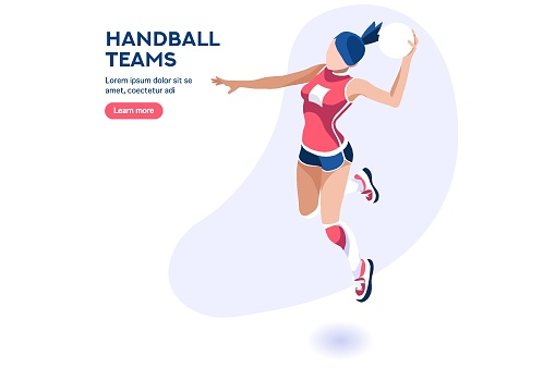 Handball Player Character