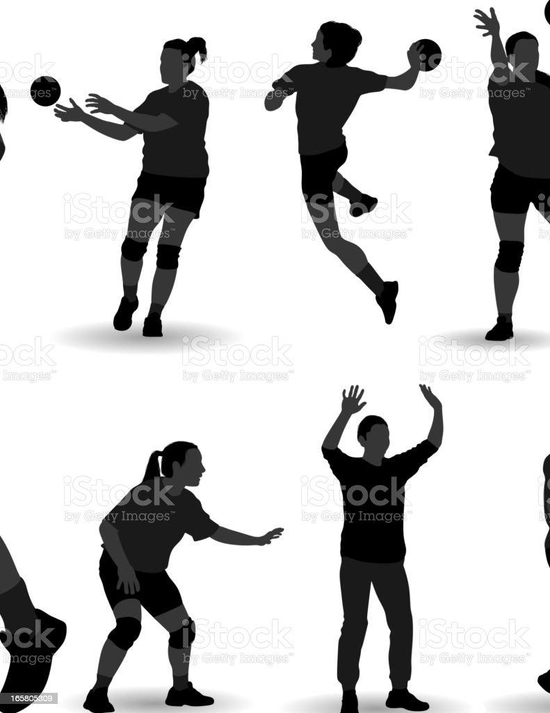 Handball royalty-free handball stock vector art & more images of adult