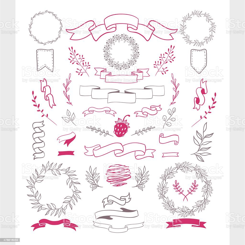 Hand-draw vector illustration with doodles elements. vector art illustration