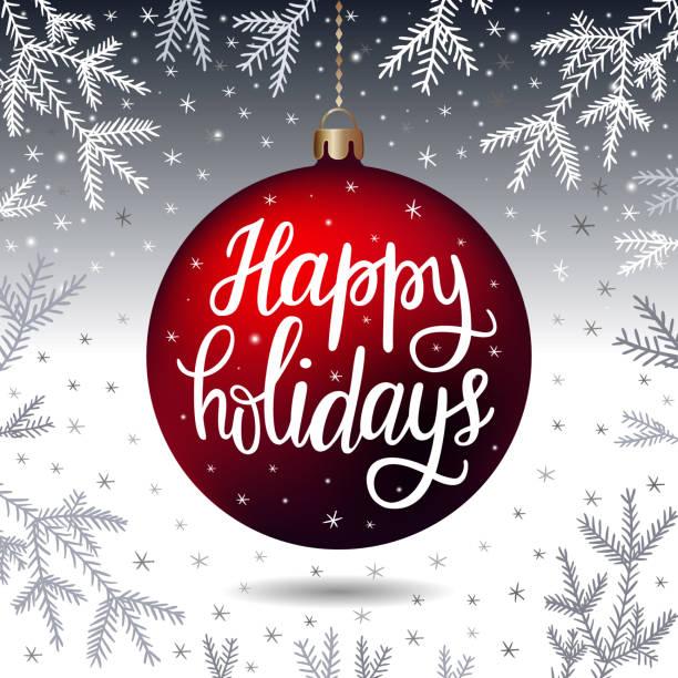 手繪文字題詞 節日快樂 - happy holidays 幅插畫檔、美工圖案、卡通及圖標