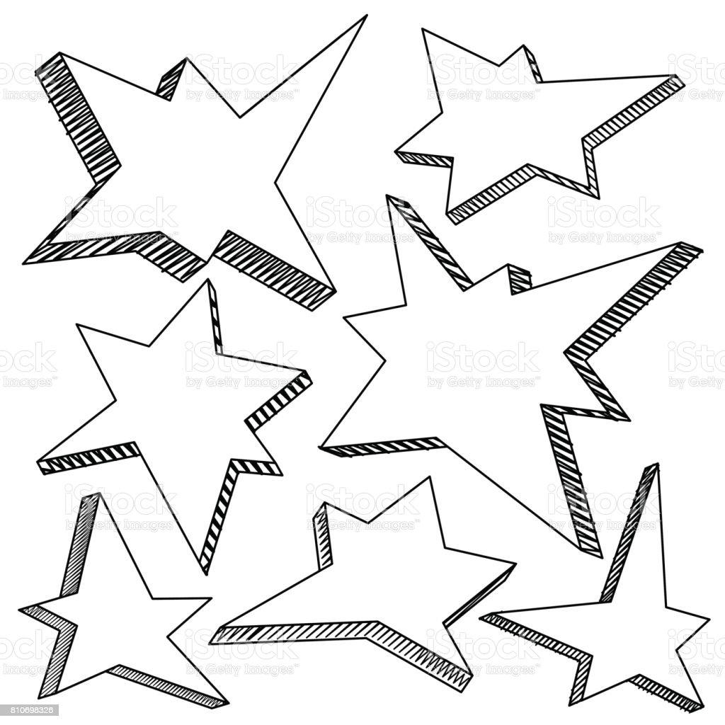 Ilustración De Dibujado A Mano Esbozado Dibujos Animados
