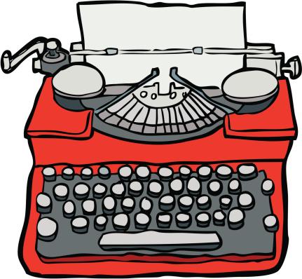 Hand-drawn Typewriter