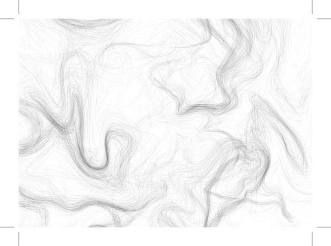 Hand-drawn vector  pattern