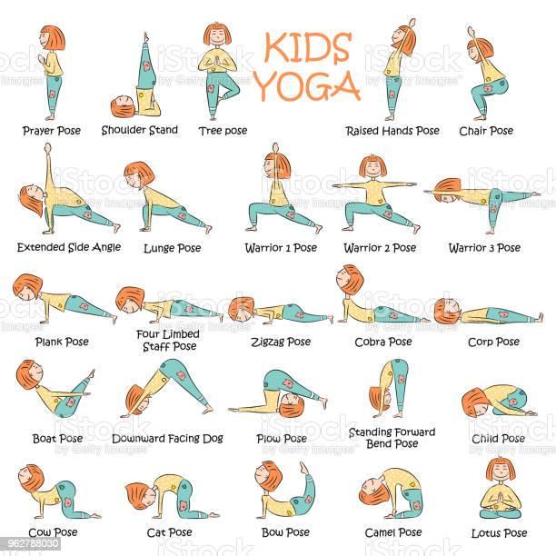 Handdrawn yoga kids set vector id962788030?b=1&k=6&m=962788030&s=612x612&h=bgkfebvdejot52yznmtsyfetpxjvitc2nhpmspixk2w=