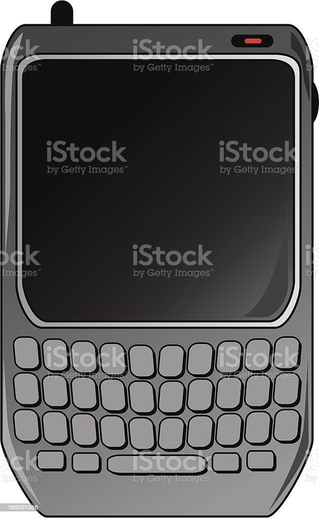Handheld device royalty-free stock vector art