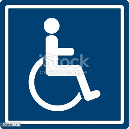 istock Handicap Sign 504528536