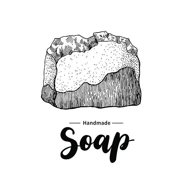 Royalty Free Handmade Soap Clip Art, Vector Images