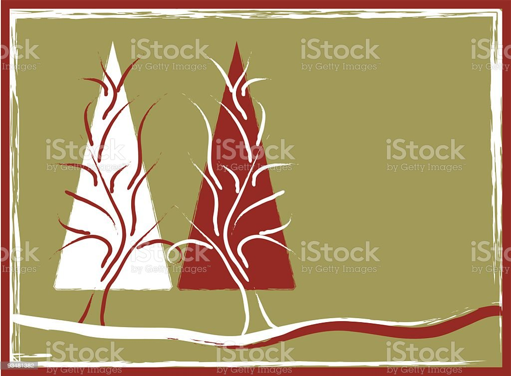 Handmade Xmas royalty-free stock vector art