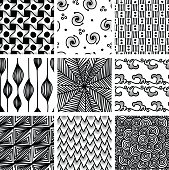 Handrawn patterns