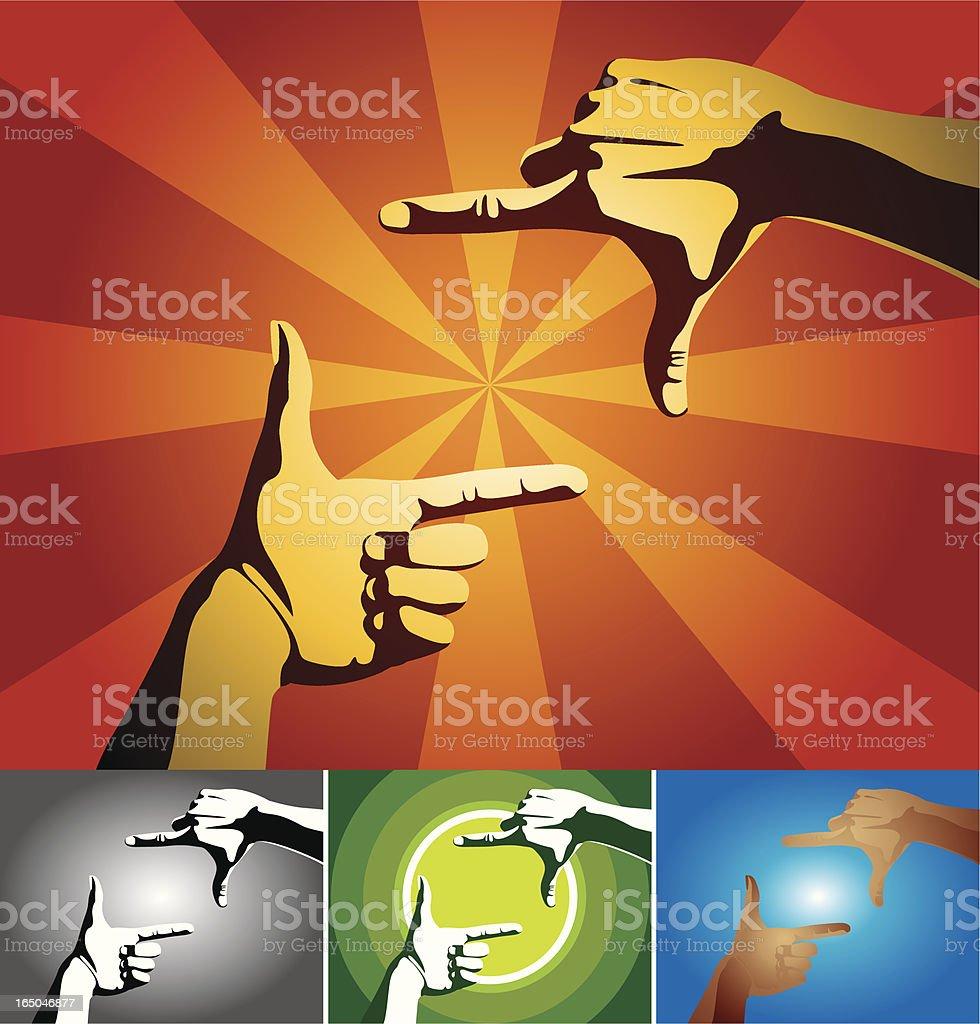 hands 3 royalty-free stock vector art