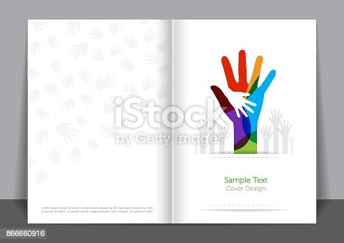 Hands and Unity Cover design