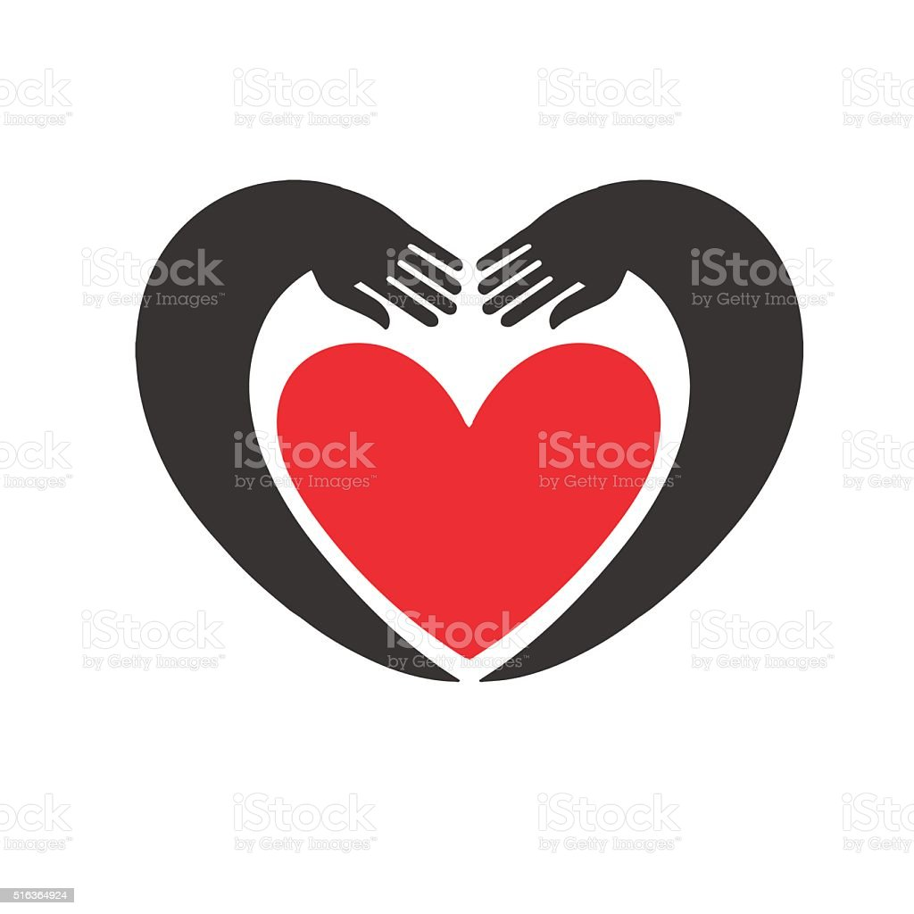 Hands Forming A Heart Symbol Stock Vector Art More Images Of