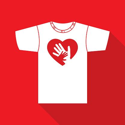 Hands Heart T Shirt