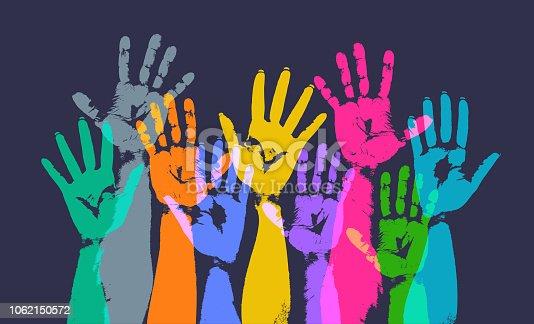 Hands Held High