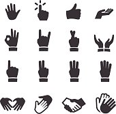 Hands Icons - Acme Series