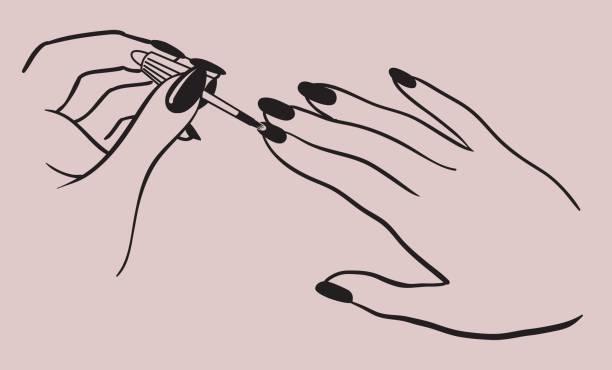 Best Nail Salon Illustrations, Royalty-Free Vector ...
