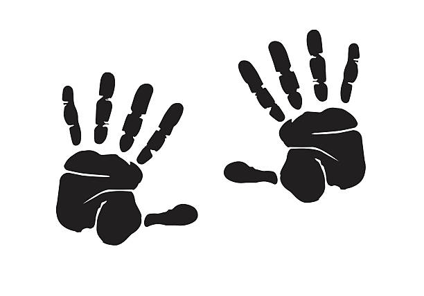 Top Handprint Clip Art, Vector Graphics and Illustrations ...