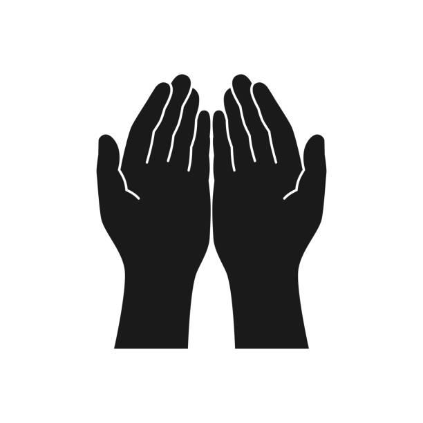 hands - dłoń stock illustrations