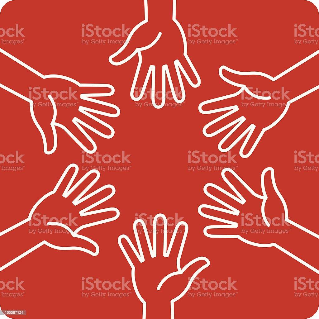 Hands royalty-free hands stock vector art & more images of cartoon