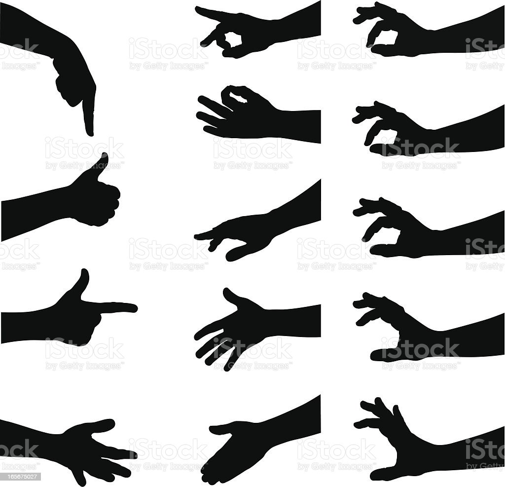Hands royalty-free hands stock vector art & more images of a helping hand