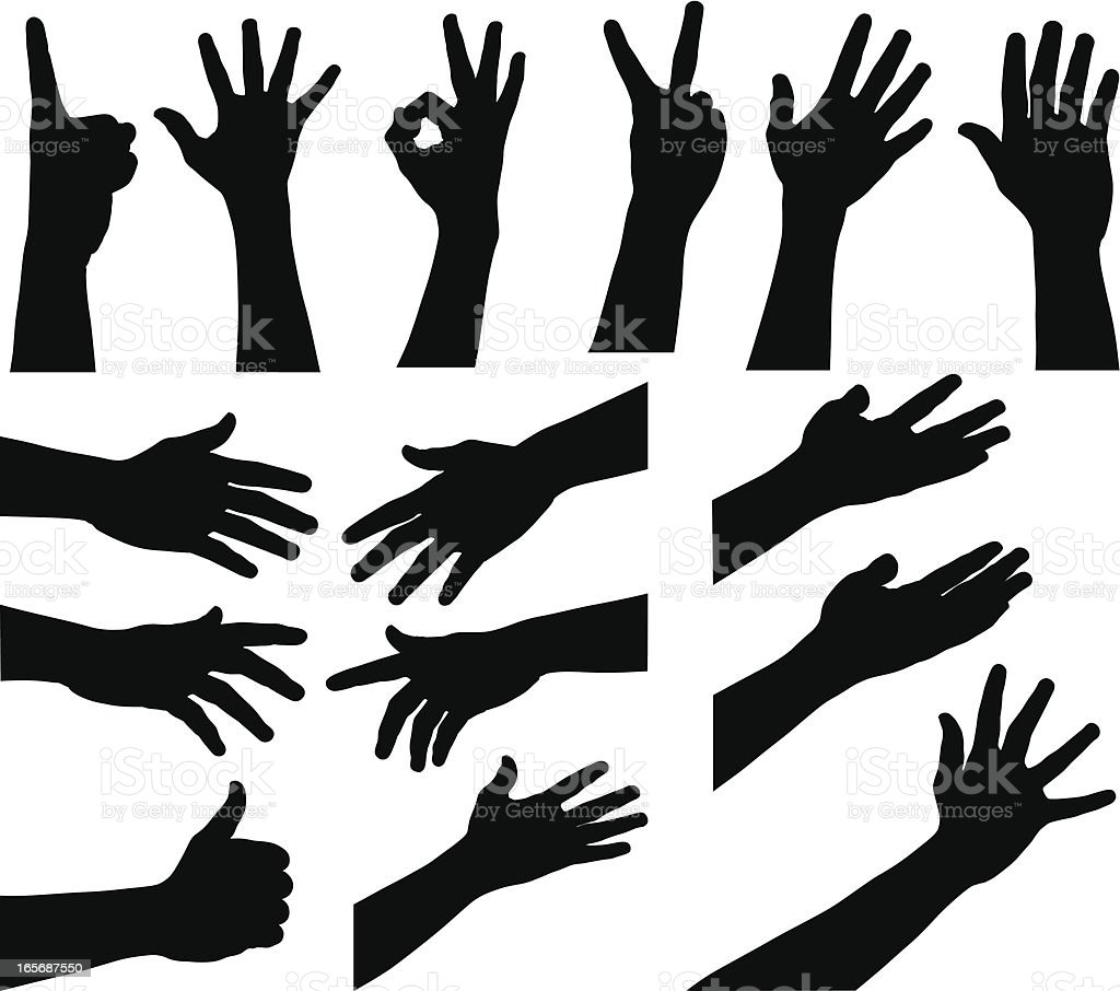 Hands royalty-free stock vector art