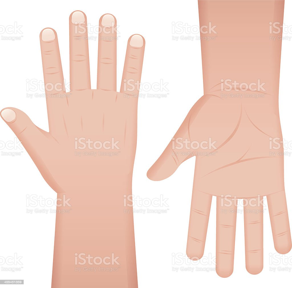Hands royalty-free hands stock vector art & more images of arms outstretched