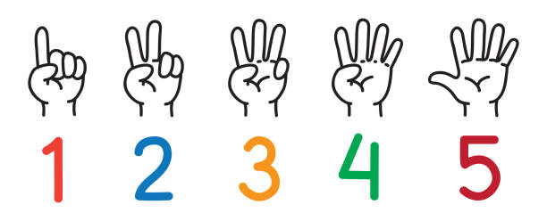Best Two Finger Illustrations, Royalty-Free Vector