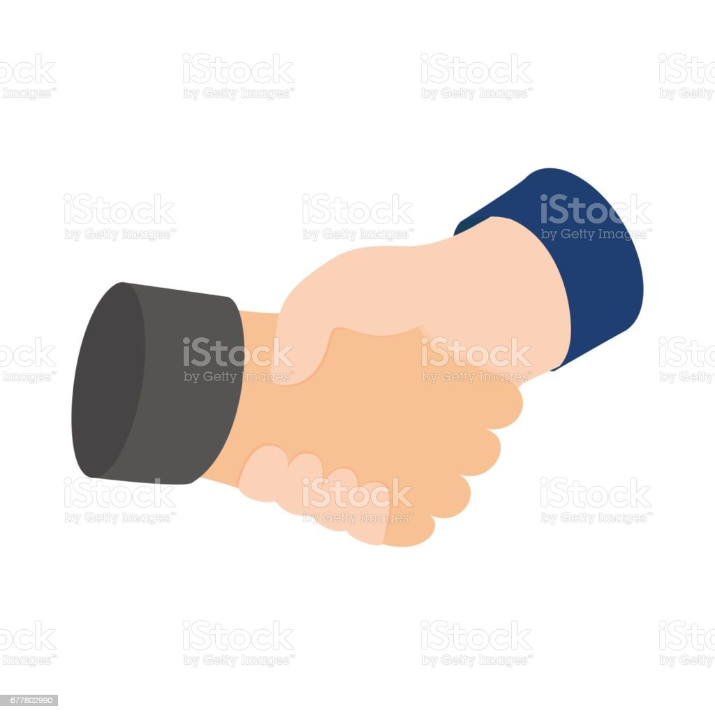 Handshake icon, isometric 3d style royalty-free handshake icon isometric 3d style stock vector art & more images of agreement