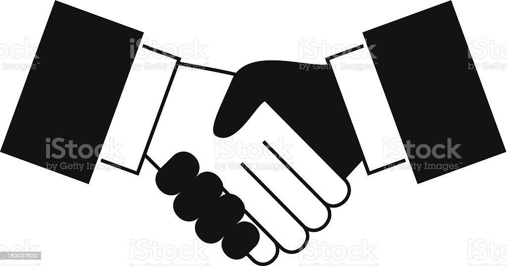 Handshake icon royalty-free handshake icon stock vector art & more images of achievement