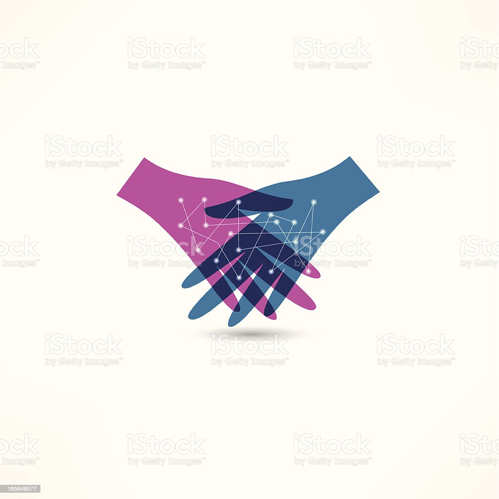 handshake icon royalty-free handshake icon stock vector art & more images of adult