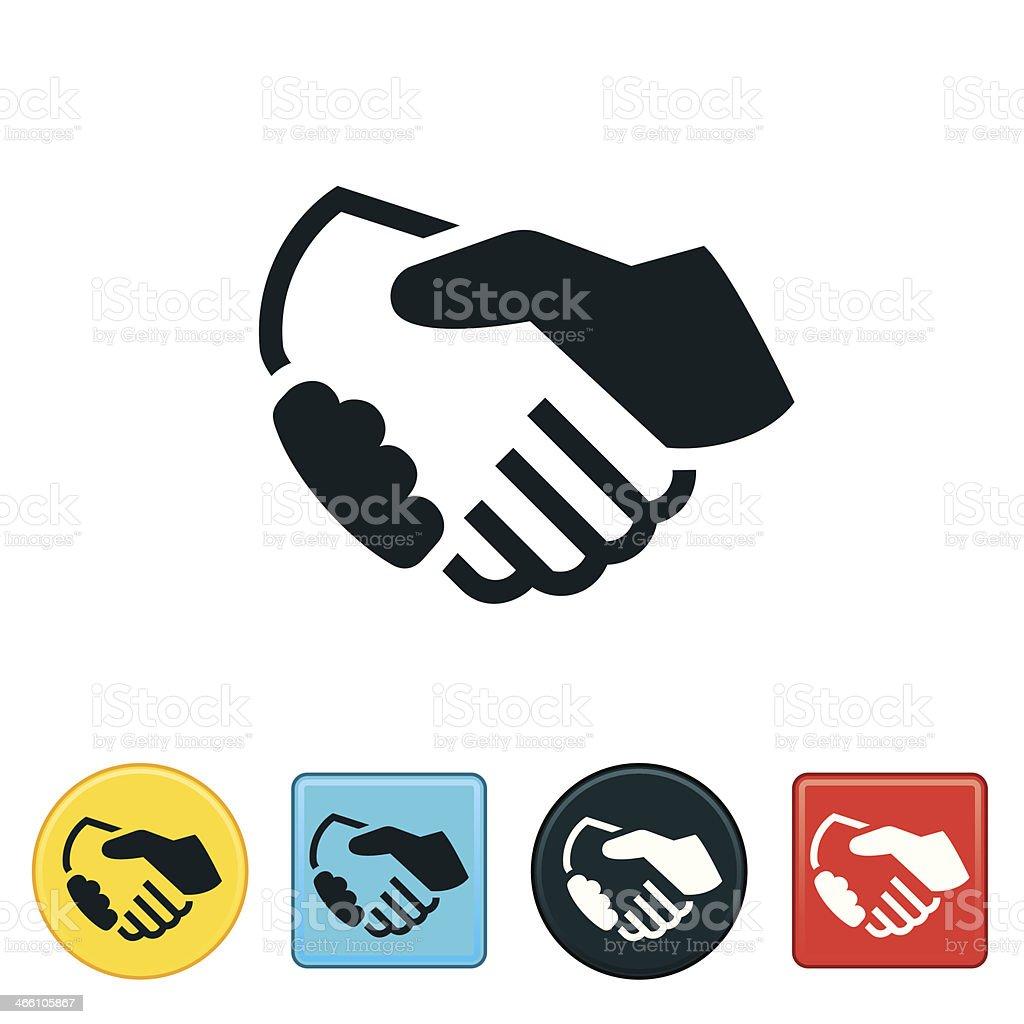 Handshake Icon vector art illustration