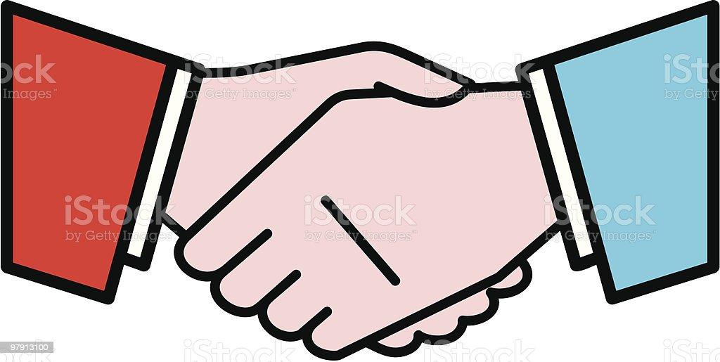 Handshake Illustration royalty-free handshake illustration stock vector art & more images of adult