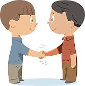 Handshake kids