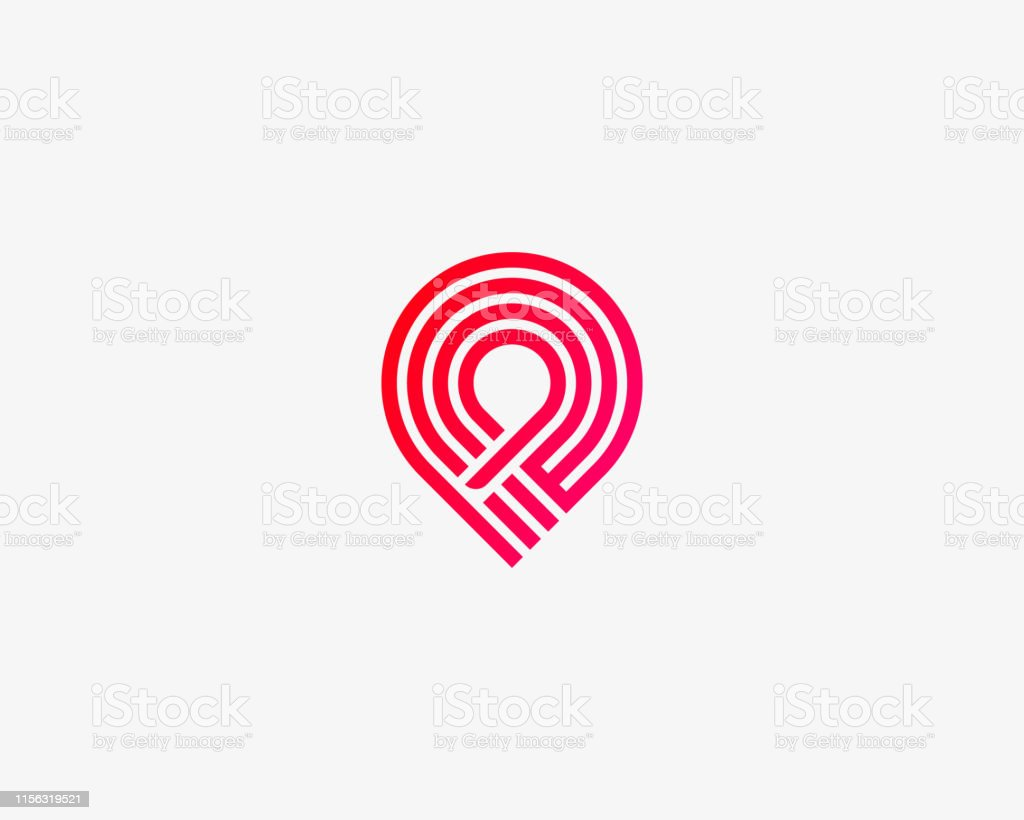 Handshake-Pin-Kreis-Vertrauensvektor-Logo. Lieferung, Deal, Team, Versand Logotyp. - Lizenzfrei Abmachung Vektorgrafik