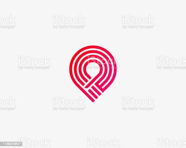 Handshakepinkreisvertrauensvektorlogo Lieferung Deal Team Versand Logotyp Stock Vektor Art und mehr Bilder von Abmachung