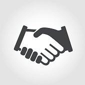 Handshake Symbol - Iconic Series