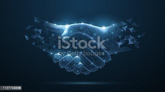 istock Handshake. 1127743338