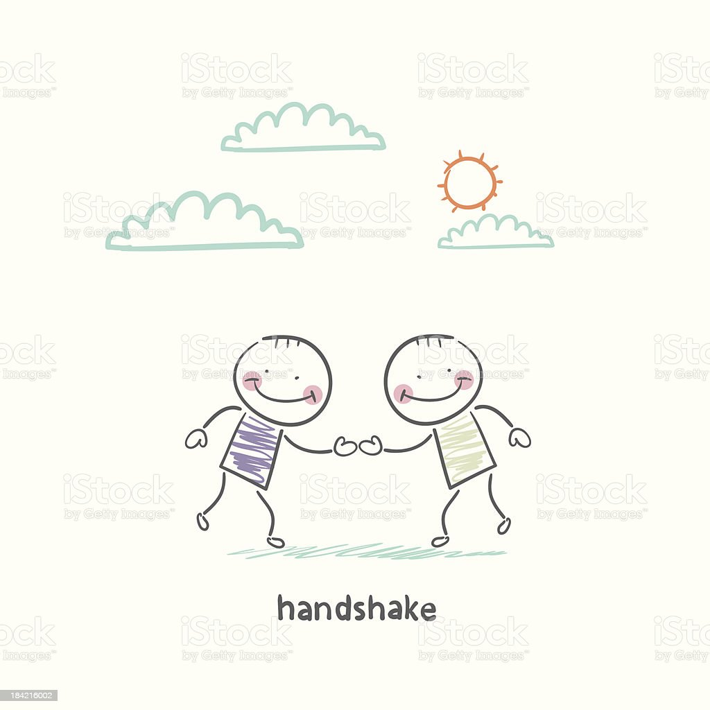 handshake royalty-free handshake stock vector art & more images of adult