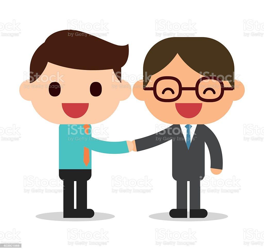 Handshake stock vector art 623921568 | iStock